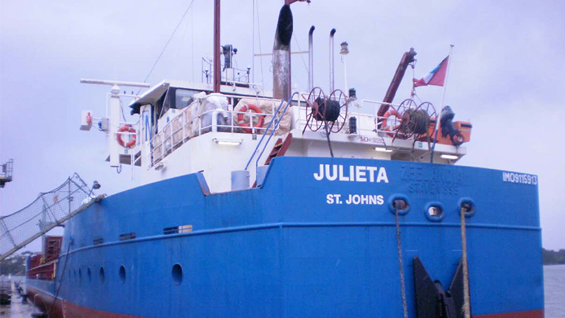 MV Julieta